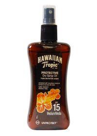HAWAIIAN TROPIC BRONZING OIL - Spray 200ml SPF 15